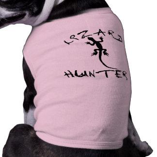 Camiseta Caçador do lagarto para cães e amantes do animal