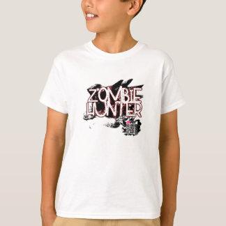 Camiseta Caçador do zombi - formas aumentadas da realidade