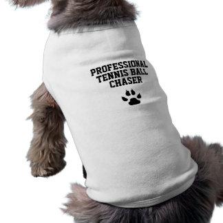 Camiseta Caçador engraçado da bola de tênis profissional do