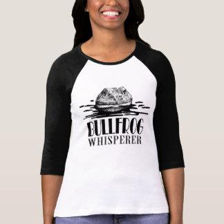 Camiseta Caçador engraçado do sapo do Whisperer da