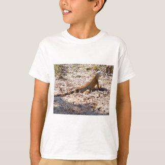Camiseta Caças alaranjadas da iguana