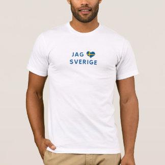 Camiseta Caças Sweden love Sverige älskar - j