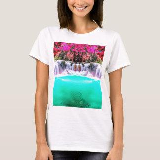 Camiseta Cachoeira psicadélico