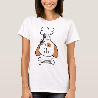 Camiseta Cachorrinho do cozinheiro chefe