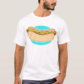 Camiseta Cachorro quente e apreciação