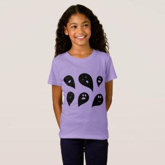 Camiseta Caçoa o t-shirt com fantasmas