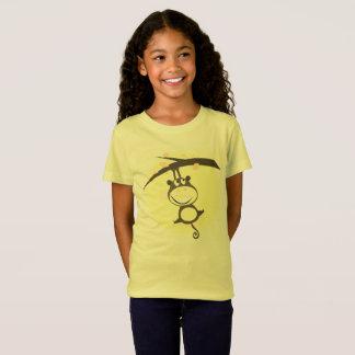 Camiseta Caçoa o t-shirt criativo com macaco