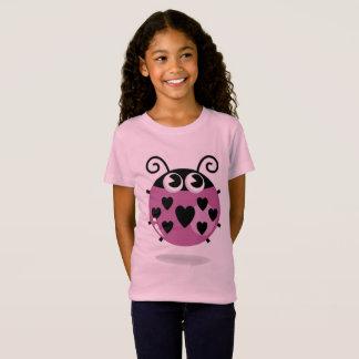 Camiseta Caçoa o t-shirt: SENHORA COR-DE-ROSA ABELHA