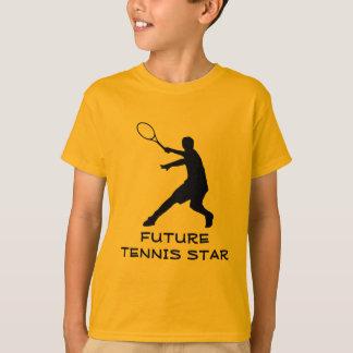 Camiseta Caçoa o tshirt alaranjado do tênis do sportswear |