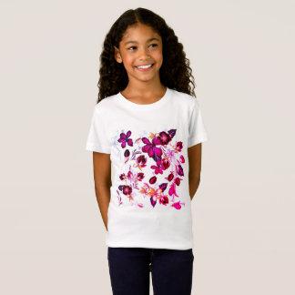 Camiseta Caçoa o tshirt com flores populares