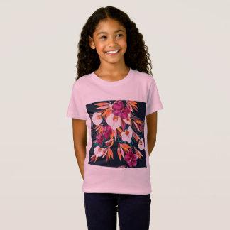 Camiseta Caçoa o tshirt dos desenhistas com flores