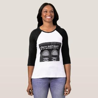 Camiseta Cada um imediata é uma oportunidade