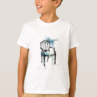 Camiseta Cadeira de Hepplewhite - aguarela