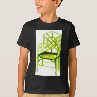 Camiseta cadeira do chinoiserie para o cartão do lugar