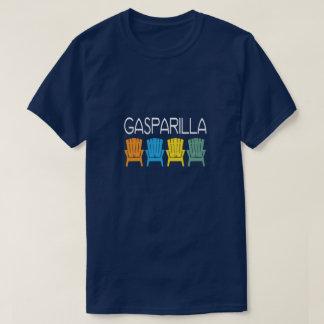 Camiseta Cadeiras de praia de Florida da ilha de Gasparilla
