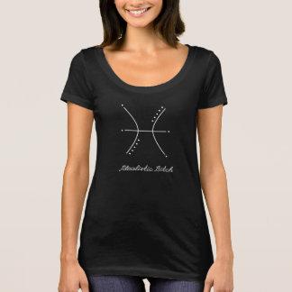 Camiseta Cadela idealista dos peixes |