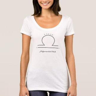 Camiseta Cadela Judgmental do Libra |