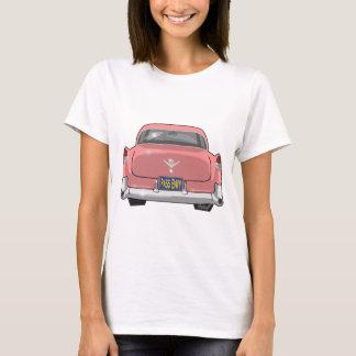 Camiseta Cadillac 1955 cor-de-rosa