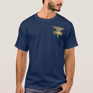 Camiseta Caduceus do ouro (CRNA)