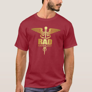 Camiseta Caduceus do ouro (RAD)