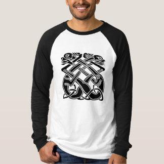 Camiseta Cães celtas pretos