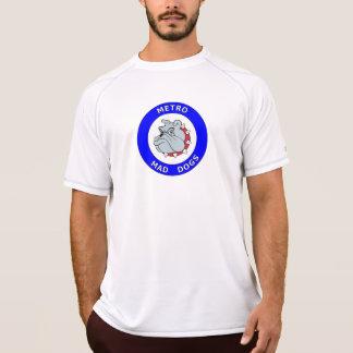 Camiseta Cães loucos do metro - t-shirt novo do equilíbrio