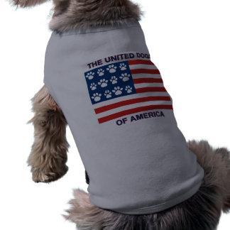 Camiseta Cães unidos de América