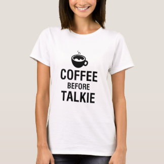 CAMISETA CAFÉ ANTES DO TALKIE