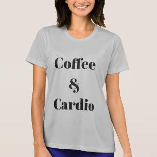 Camiseta Café & cardio- t-shirt atlético
