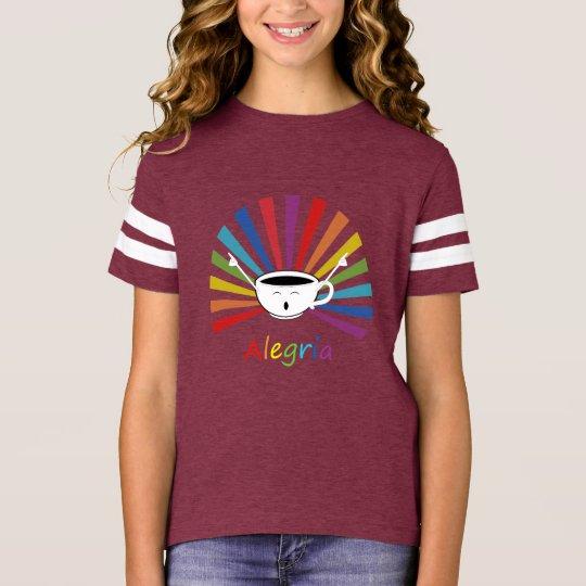Camiseta Café com sentimentos
