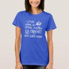 Camiseta Café, Crochet e sestas