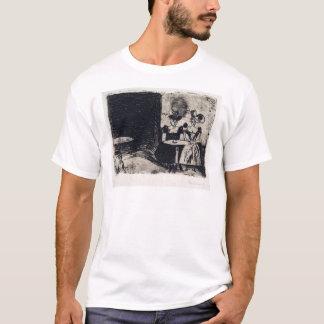 Camiseta Café da noite de Edvard Munch