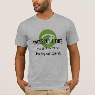 Camiseta Café do Sagebrush: Positivamente independente