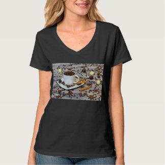 Camiseta Café e especiarias