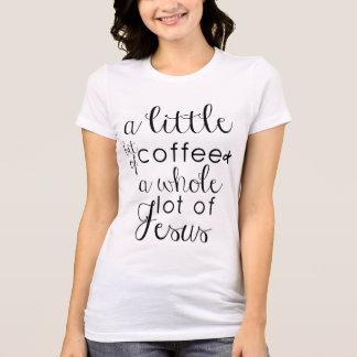 Camiseta Café e Jesus