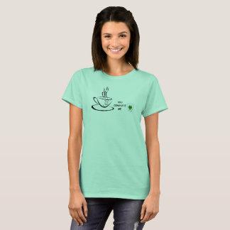Camiseta Café irlandês - você termina-me