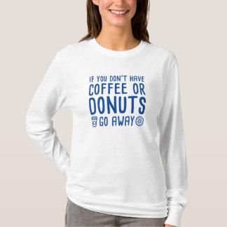 Camiseta Café ou rosquinhas