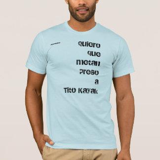 Camiseta Caiaque de Tito