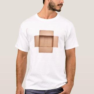 Camiseta Caixa de cartão ondulado Opened