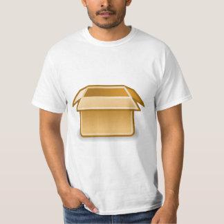Camiseta Caixa de cartão vazia