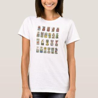 Camiseta Caixa de fortuna de 22 cartões de Tarot