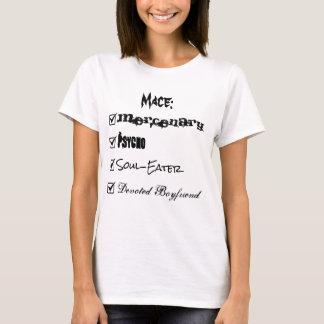 Camiseta Caixa de verificação do Mace
