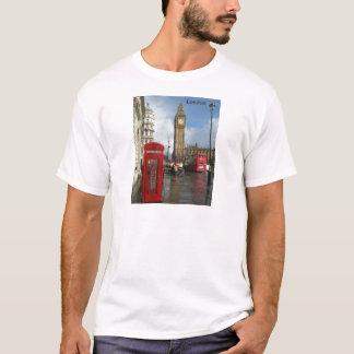 Camiseta Caixa do telefone de Londres & Big Ben (St.K)