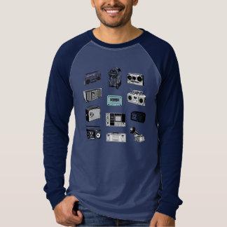 Camiseta Caixas de crescimento & rádios retros