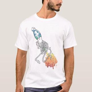 Camiseta Calamar do arco-íris