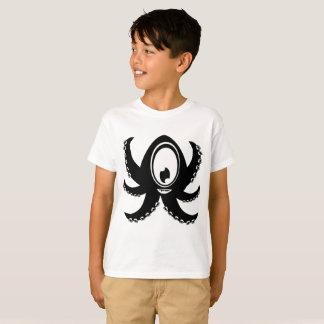 Camiseta Calamar do homem do menino do t-shirt do Hanes