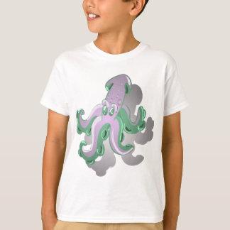 Camiseta Calamar verde