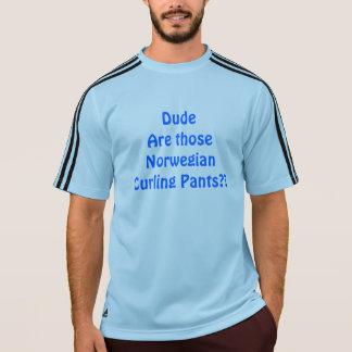 Camiseta Calças de ondulação norueguesas