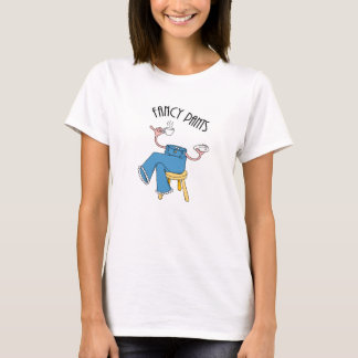 Camiseta Calças extravagantes
