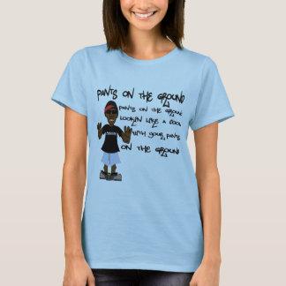 Camiseta Calças na terra